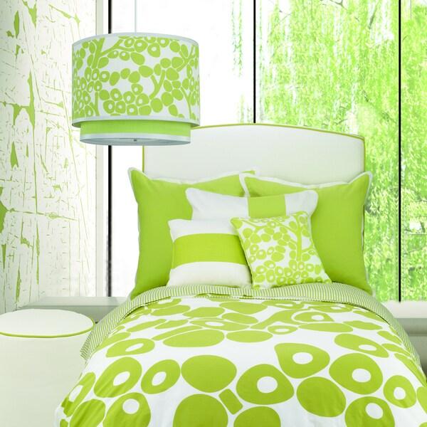 Spring Green OIlo Modern Berries Duvet Cover
