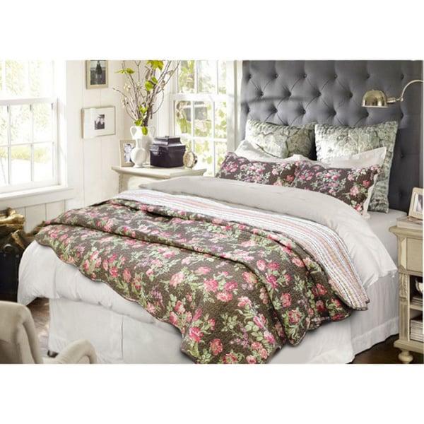 Vanessa Floral 3-piece Quilt Set