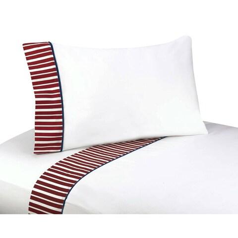 Sweet JoJo Designs 200 Thread Count Vintage Aviator Bedding Collection Cotton Sheet Set