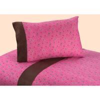Sweet JoJo Designs 200 Thread Count Western Cowgirl Bandana Print Bedding Collection Cotton Sheet Set
