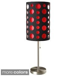 Black 33-inch Modern Retro Table Lamp