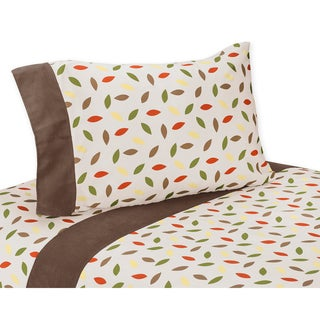 Sweet JoJo Designs 200 Thread Count Forest Friends Collection Cotton Sheet Set