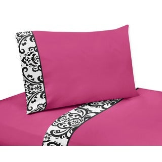 Sweet JoJo Designs 200 Thread Count Isabella Bedding Collection Cotton Sheet Set