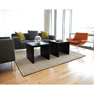 Jani Bodhi Chunky Wool and Jute Handwoven Rug (5' x 8')