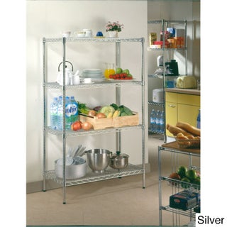 OFM S367224 4-Shelf Unit (Option: Silver)