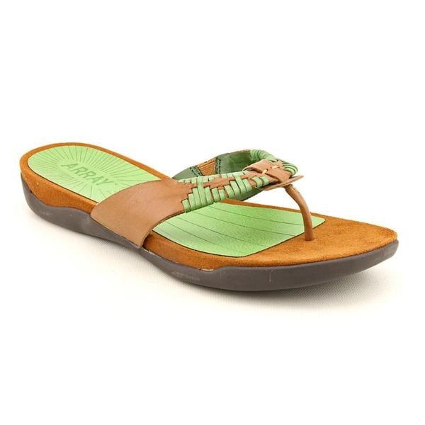 Array Women's 'Zu' Leather Sandals