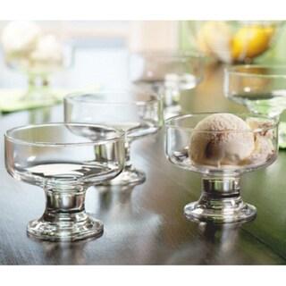 Style Setter Soho Crystalline Clear Votive Dessert Dishes (Set of 6)