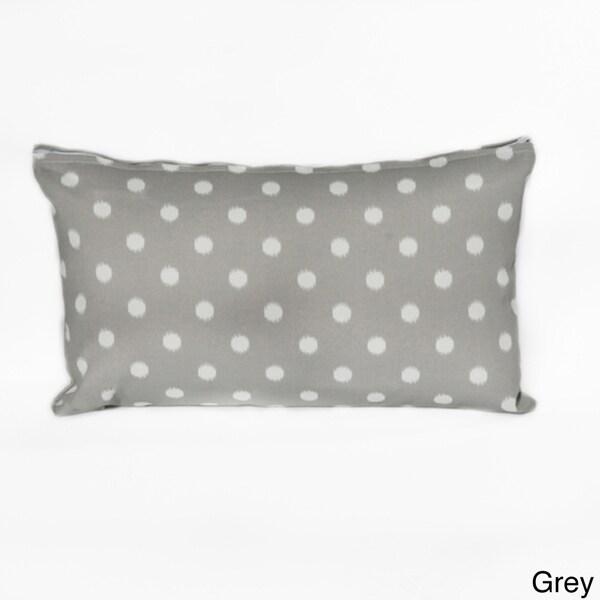 Ikat Dot Lumbar Pillow