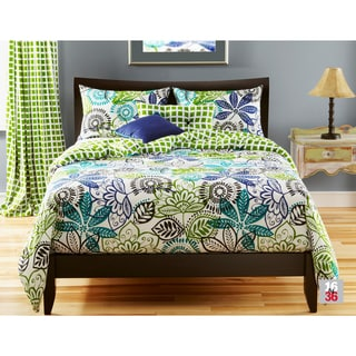 The Curated Nomad Tanforan 4-piece Duvet Cover Set