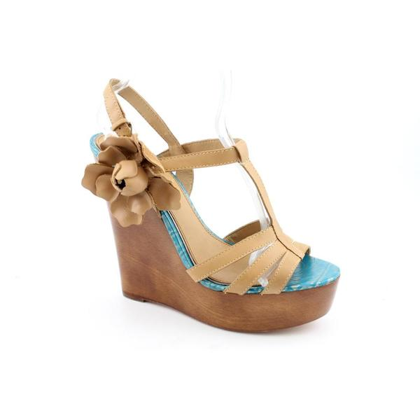 Mark & James By Badgley Mischka Women's 'Maiko' Leather Sandals (Size 7.5)