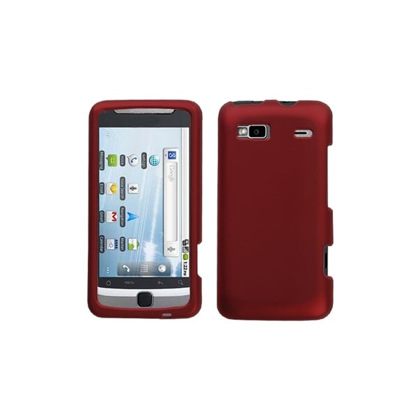 INSTEN Titanium Solid Red Case Cover for HTC Vision/ G2