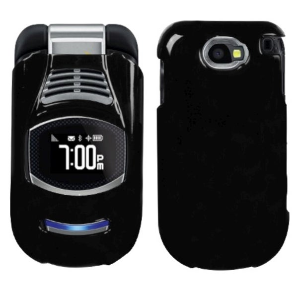 INSTEN Solid Black Phone Case Cover for Sanyo E4100 Taho