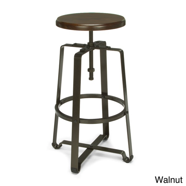 Ofm Endure 34 Inch Adjustable Height Spindle Stool Free