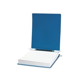 9.5 x 11 Blue Hanging Data Binder with Accohide Cover