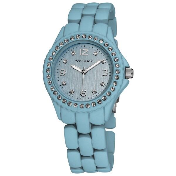 Vernier Ladies Soft Touch Pastel Bracelet Quartz Fashion Watch