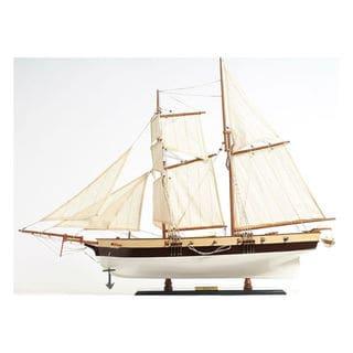 Old Modern Handicrafts Lynx Painted Model Ship