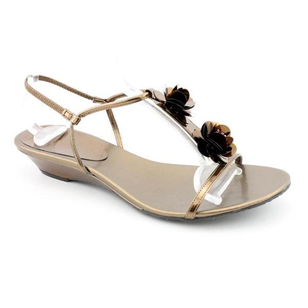 Anne Klein AK Women's 'Ziti' Synthetic Sandals