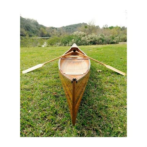 Old Modern Handicrafts 18-Foot Real Canoe