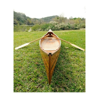 Old Modern Handicrafts 18-Foot Real Canoe