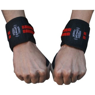 Defender 14-inch Black Sports Wrist Bands