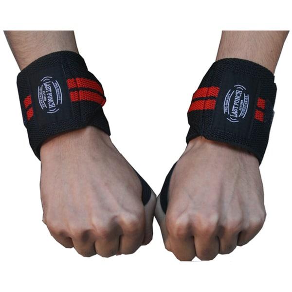 Defender 14-inch Black Sports Wrist Bands