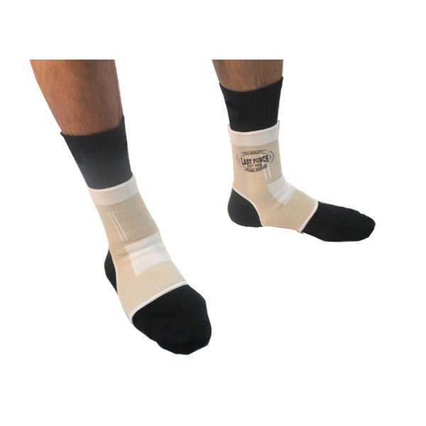 Defender Compression Fit Pull On Ankle Arch Brace Support Sports Elastic Exercise