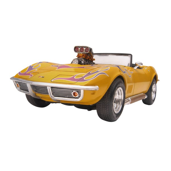 Revell '68 2-in-1 Corvette Convertible 1:25 Model Kit