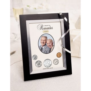 American Coin Treasures Year To Remember Coin Picture Frame (1965-2015) (More options available)