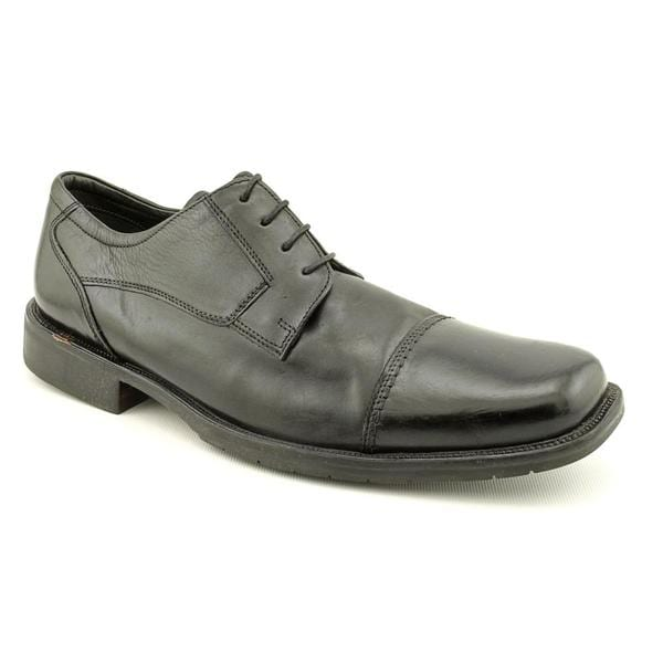 Mens black dress shoes size 15