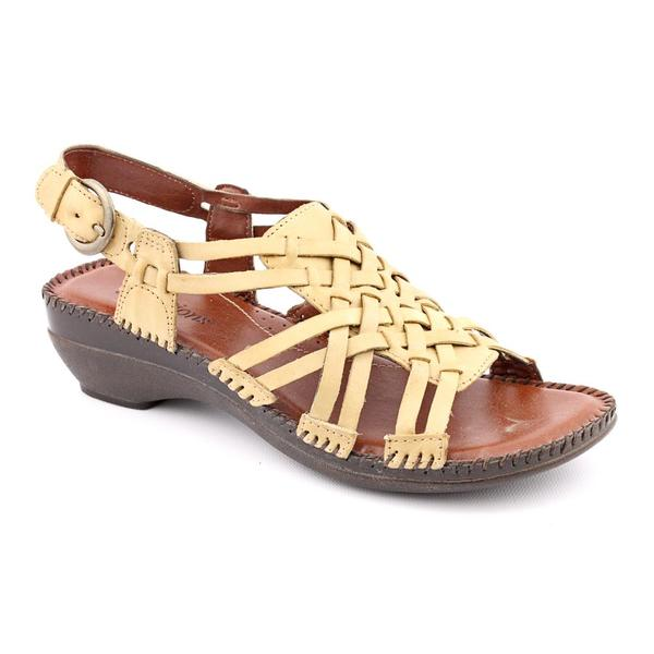 Auditions Women's 'Samba' Leather Sandals