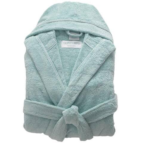 Hooded Turkish Cotton Bath Robe
