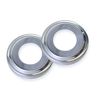 Swimline Stainless Steel Escutcheons for Pool Handrail (Pair)
