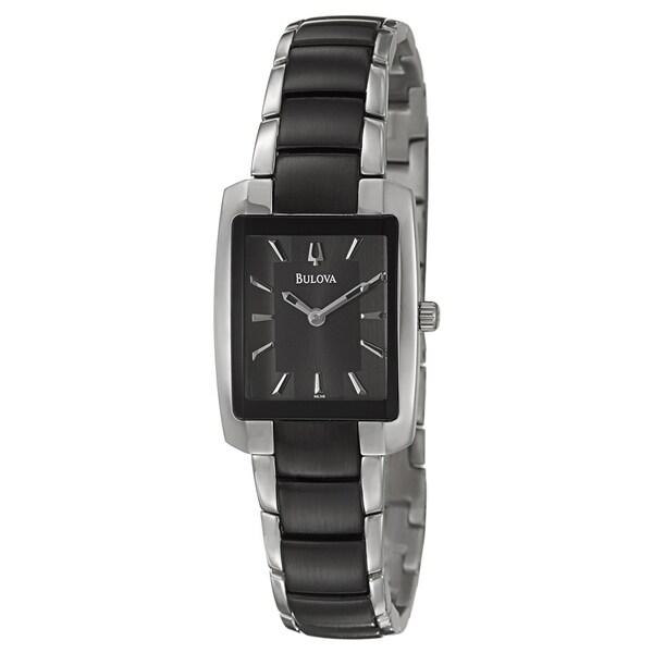 Bulova Women's 98L148 'Dress' Stainless Steel Watch