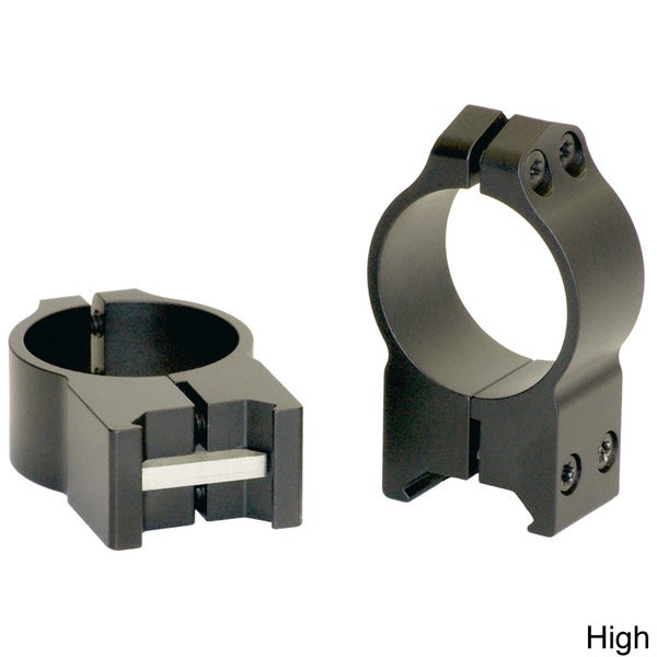 Warne 30MM Permanent Attach Rings