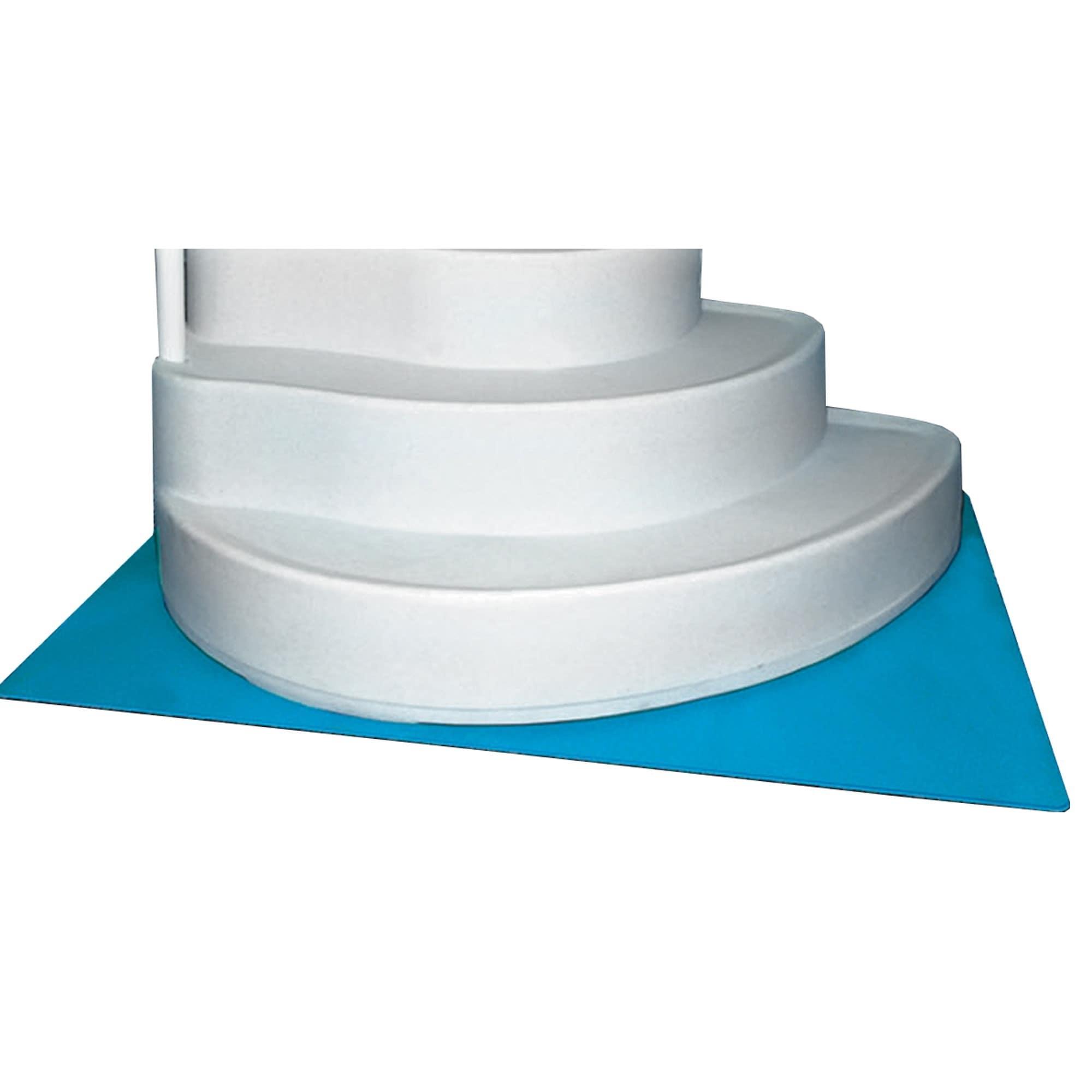 Horizon Ventures Deluxe In-Pool Ladder/Step Pad (4'x 5') ...