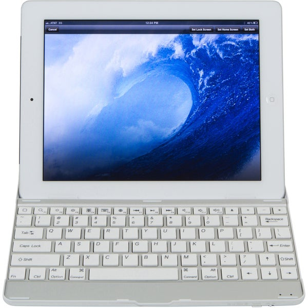Home Zone Bluetooth Wireless Keyboard & Cover for Apple iPad 2/ 3