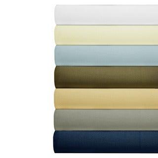 Cotton 630 Thread Count Deep Pocket Solid Color Sheet Set