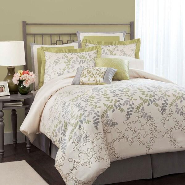 Lush Decor Joslyn 8-piece Green Comforter Set
