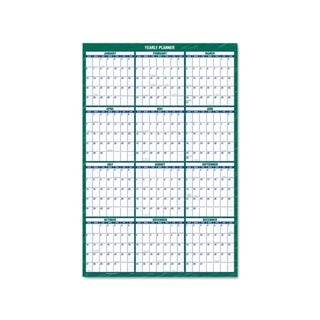 Recycled Erasable 2015 Vertical Wall Planner