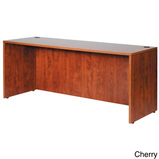 Boss 66-inch Cherry or Mahogany Finished Credenza (2 options available)