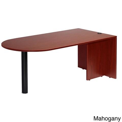 Boss Cherry or Mahogany Finished Bullet Desk