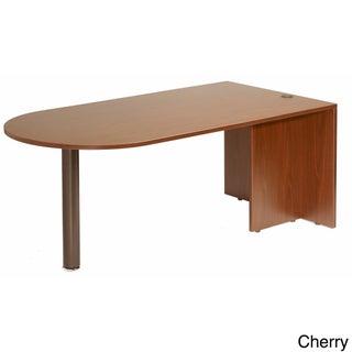 Boss Cherry or Mahogany Finished Bullet Desk (Option: Cherry Finish)