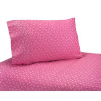 Sweet JoJo Designs Cotton 200 Thread Count Pink Bedding Sheet Set