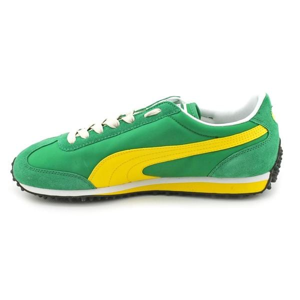Shop Puma Men's 'Whirlwind Classic' Leather Casual Shoes
