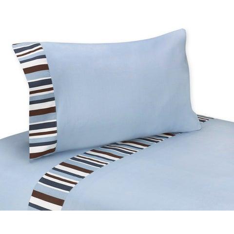 Sweet JoJo Designs Starry Night Collection 200 Thread Count Sheet Set