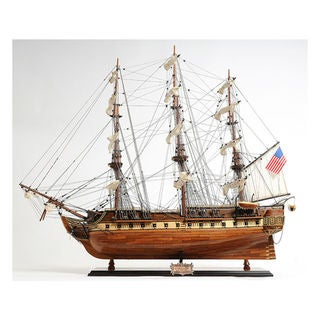 Link to Old Modern Handicrafts USS Constitution Exclusive Edition Model Ship Similar Items in Decorative Accessories