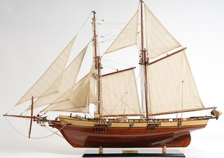 Old Modern Handicrafts Harvey Model Ship