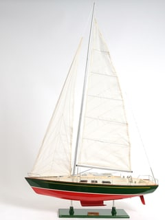 Old Modern Handicrafts Omega Yacht Model Ship
