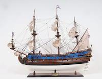 Old Modern Handicrafts Goto Predestination Painted Model Ship