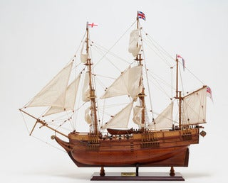 Old Modern Handicrafts Beagle Model Ship